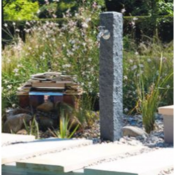 Колонка садовая водораздаточная Гранит (темный)
