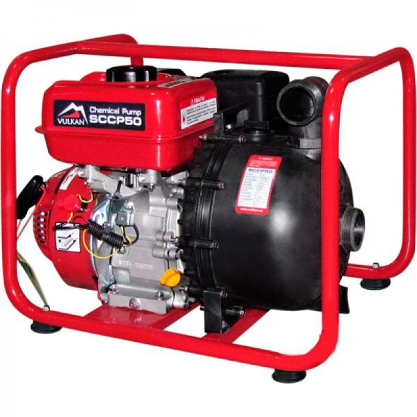 Мотопомпа бензиновая VULKAN SCCP50 для химикатов