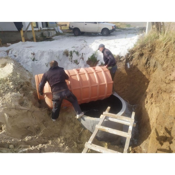 Автономная канализация для очистки сточных вод