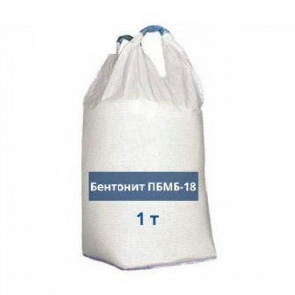 Бентонит буровой ПБМБ-18 БИГ БЕГ 1т