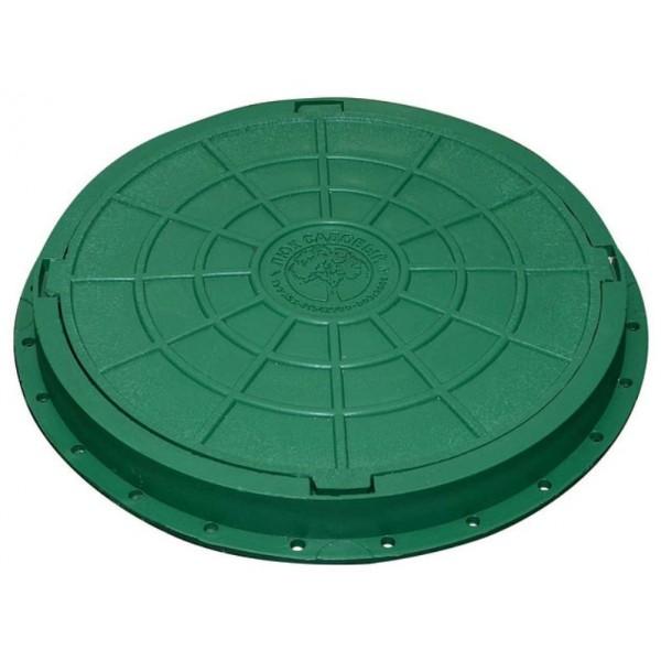 Люк садовый 1.5т  (канализационный)