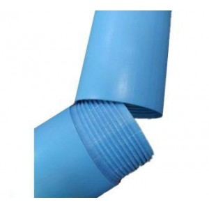 Труба ПП обсадная для скважин d=125*10 мм, L=3 м (без раструба)