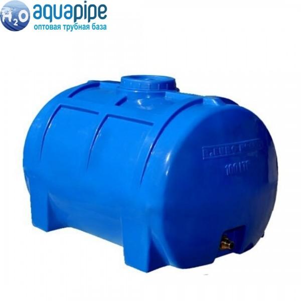 Пластиковый бак Euro Plast горизонтальный 100 литров RG 100 (1-но слойный)
