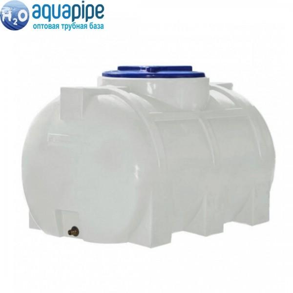 Пластиковый бак Euro Plast горизонтальный 500 л RG 500 (1-но слойный)