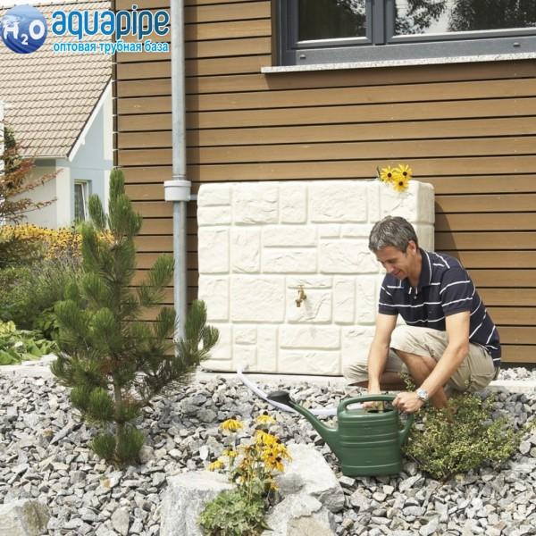 Емкость для воды Каменная стена 400л