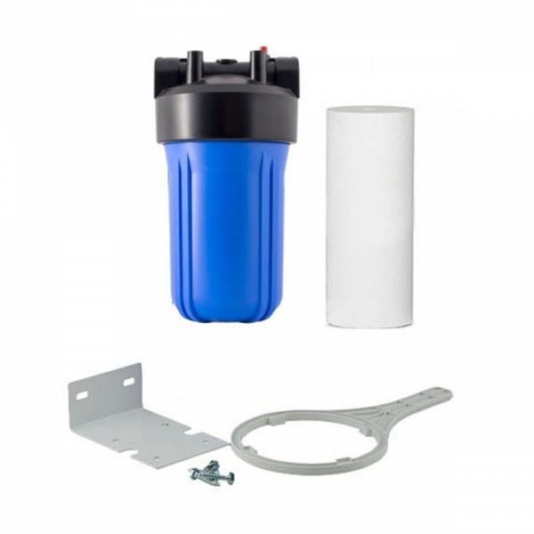 """Магистральный фильтр  Big Blue BB10 1"""" для холодной воды( с картриджем полипропилен 10)"""