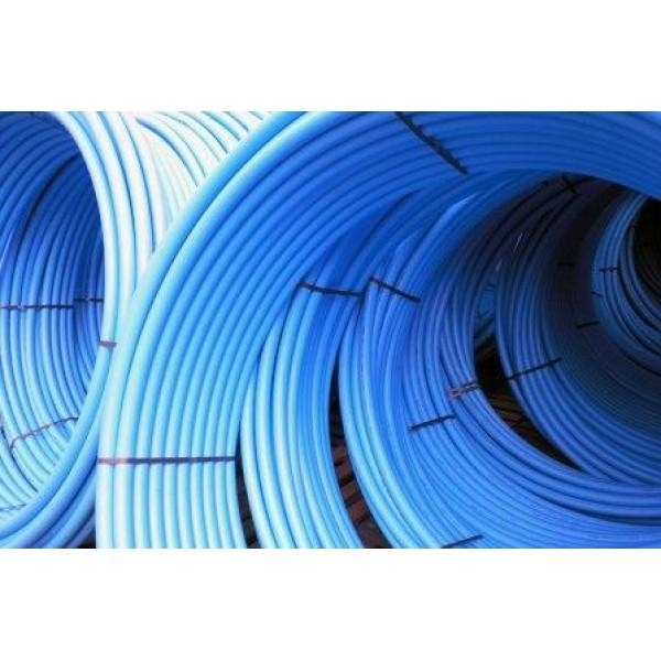 Труба ПЭ синяя д.50 PN10*3.7