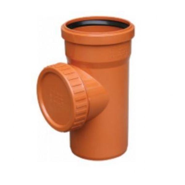 Ревизия Valrom  ПВХ 110 для наружной канализации