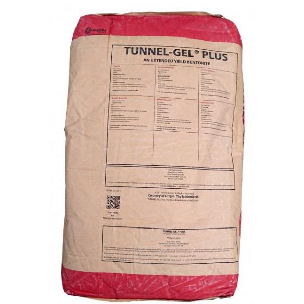 Бентонит для бурения скважин TUNNEL-GEL PLUS/MAX