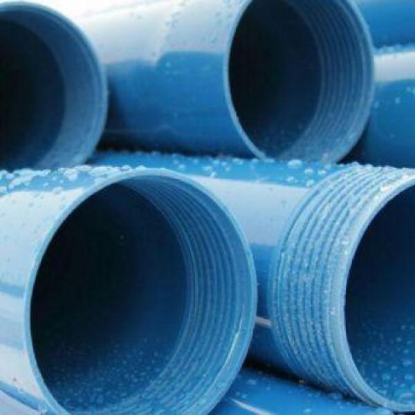 Труба обсадная для скважин d=125*5.0 мм, L=3 м(синяя)