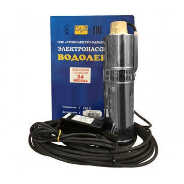 Насос для скважин Водолей БЦПЭ-0,5-50У (кабель 32м)