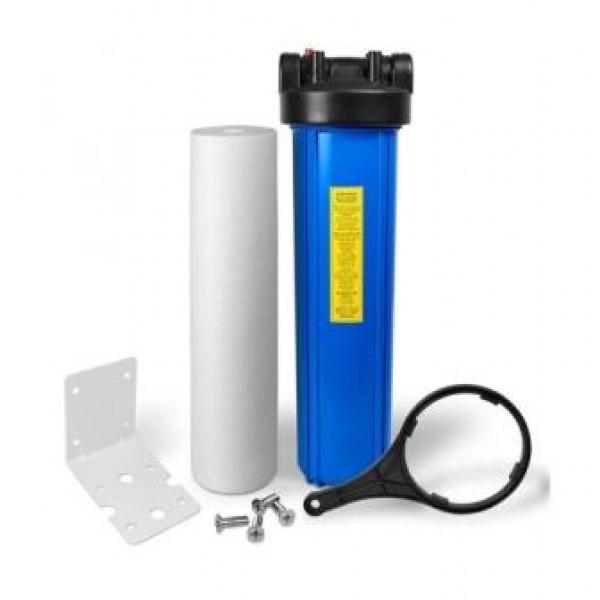 """Магистральный фильтр  Big Blue BB20 1"""" для холодной воды( с катриджем полипропилен 10)"""
