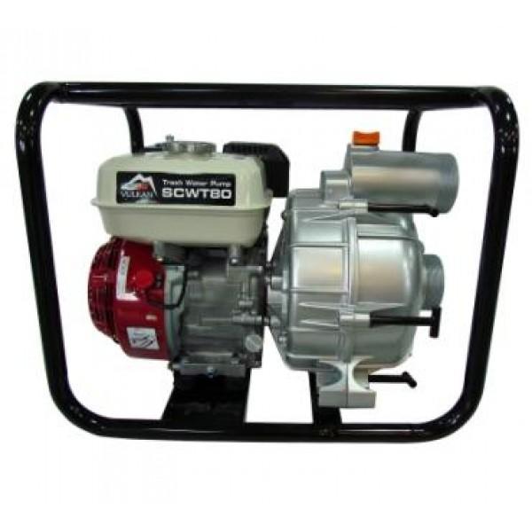 Мотопомпа Vulkan SCWT80H для грязной воды с двигателем HONDA GX 200