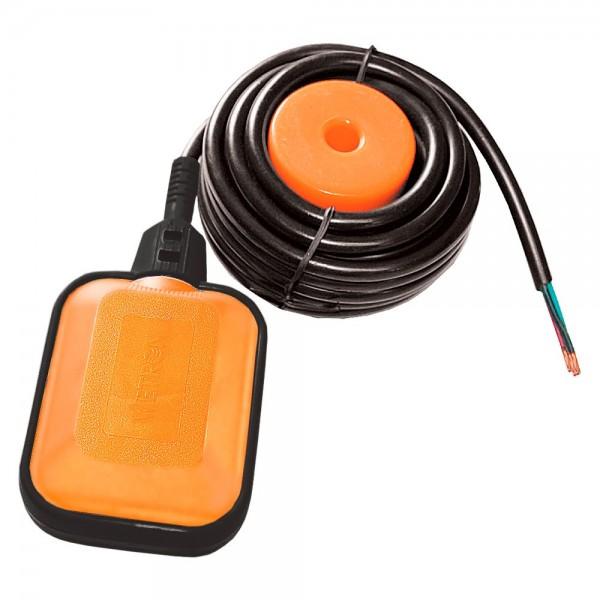 Выключатель поплавковый универсальный кабель 5м×0.75мм² с балластом WETRON (779662)