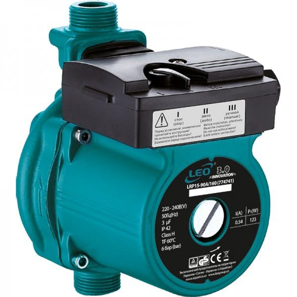 Насос для повышения давления 123Вт Hmax 9м Qmax 25л/мин Ø3/4