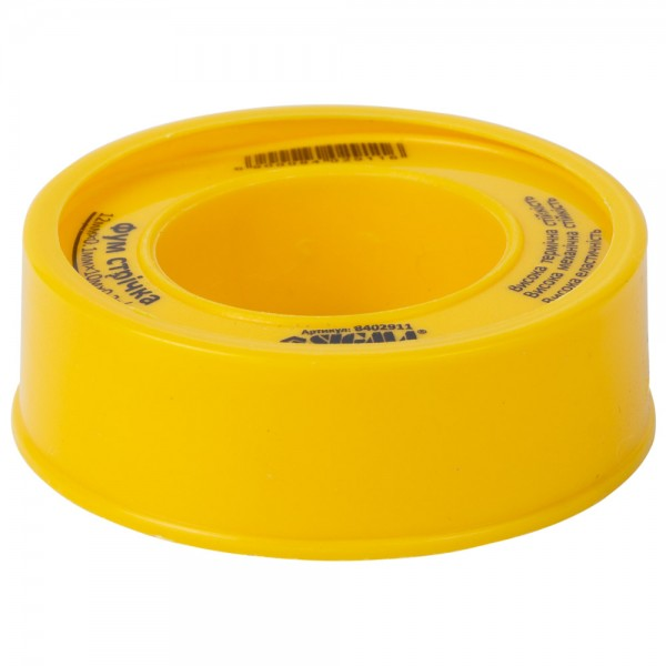 Фторопластовая (ФУМ) лента 0.1мм×12мм×10м SIGMA (8402911)