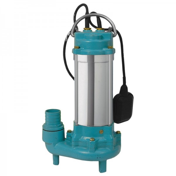 Насос канализационный 1.5кВт Hmax 19.5м Qmax 350л/мин с ножом (нерж) AQUATICA (773434)
