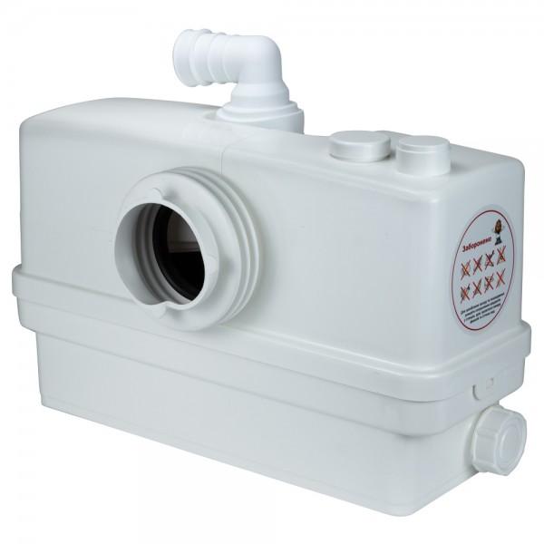Станция канализационная 0.6кВт Hmax 8.5м Qmax 110л/мин 3 входа + фронтальный вход 90мм LEO 3.0 (776914)