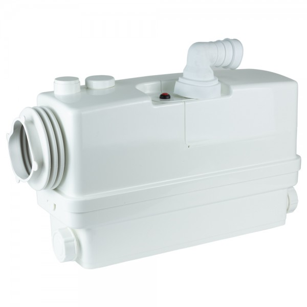 Станция канализационная 0.6кВт Hmax 8.5м Qmax 110л/мин 3 входа + боковой вход 90мм LEO 3.0 (776916)