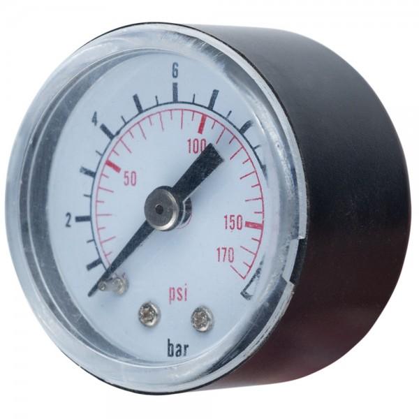 Манометр для контроллера 12 бар 40мм WETRON (779741)