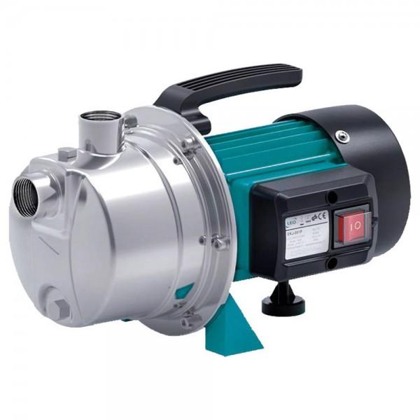Насос центробежный самовсасывающий 1.2кВт Hmax 48м Qmax 80л/мин нерж LEO (775314)