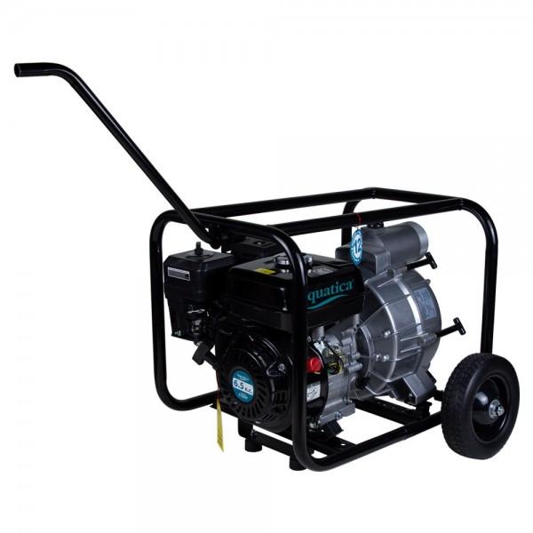 Мотопомпа 7.5л.с. Hmax 28м Qmax 70м³/ч (4-х тактный) для грязной воды AQUATICA (772537)