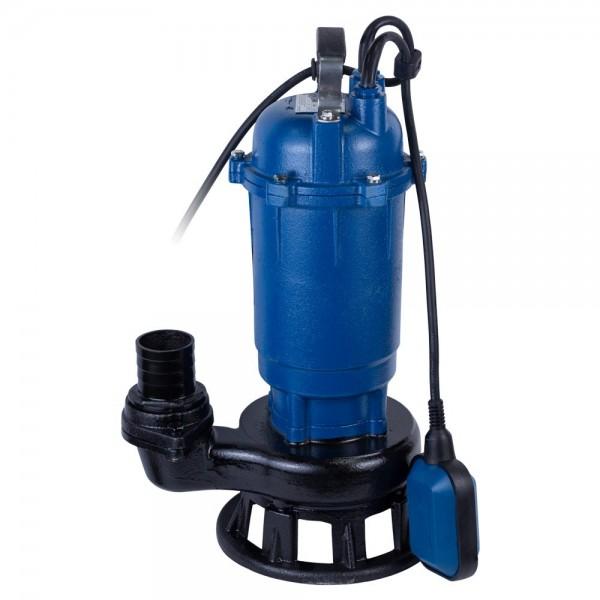 Насос канализационный 1.8кВт Hmax 15м Qmax 320л/мин с ножом WETRON (773373)