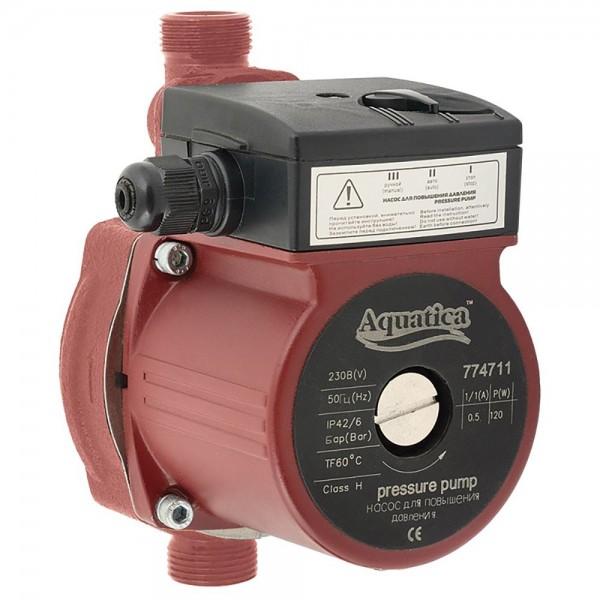 Насос для повышения давления 120Вт Hmax 9м Qmax 30л/мин Ø3/4