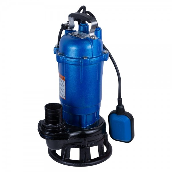 Насос канализационный 1.1кВт Hmax 14м Qmax 340л/мин с ножом AQUATICA mid (773392)