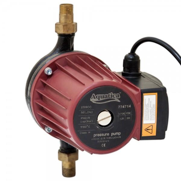 Насос для повышения давления 270Вт Hmax 12м Qmax 47л/мин Ø3/4